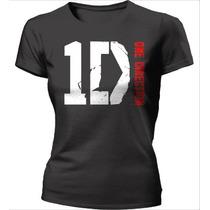 Camisa One Direction Babylook - Outros Modelos - 100%algodão