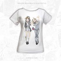 Camisa Feminina - Garotas Lindas - Promoção - Alta Qualidade