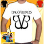Camiseta Banda Black Veil Brides Branca Bvb Rock Metal Punk