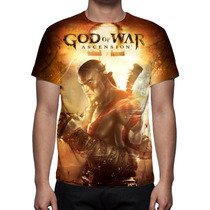 Camisa, Camiseta Game God Of War Ascension Mod 02