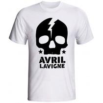 Camisa Avril Lavigne ( Várias Estampas)