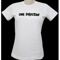 Blusa One Direction - Outras Estampas 1d - Babylook Feminina