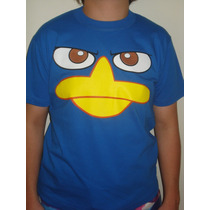 Camiseta Perry O Ornitorrinco Angry Birds Anime R$26,00