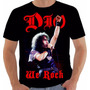 Camiseta Baby Look Regata Ronnie James Dio We Rock Sabbath