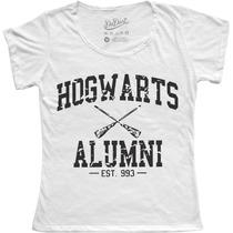 Blusa - T Shirt - Feminina Harry Potter Hogwarts Alumni