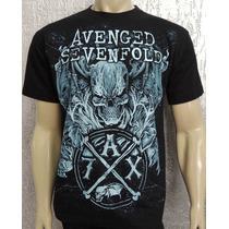 Camiseta De Banda - Avenged Sevenfold - Modelo 4