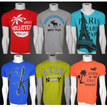 Camisetas Calvin Klein Abercrombie Hollister Armani Camisas