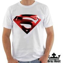 Camiseta Superman Novo - Camisetas Engraçadas Super Hérois