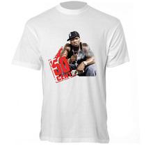 Camiseta 50 Cent - Camisa Rapper,pop,rock,feat
