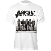 Camiseta Asking Alexandria - Camisa Punk Rock