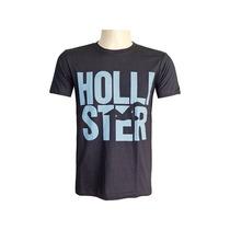 Camiseta Hollister Masculina- Pronta Entrega