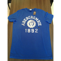 Camiseta Abercrombie Masculina Original Opções De Tam/cor