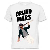 Camiseta Bruno Mars - Camisa Musica Pop,rap,rock