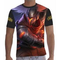 Camisa Camiseta Yasuo League Of Legends Lol Total 002