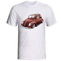 Camiseta Vw Fusca 100% Algodão
