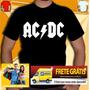 Camisa Ac Dc - Camiseta Bon Jovi Ramones Nirvana Rappa Guns