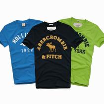 Camiseta Hollister E Abercrombie Masculina E Gola Polo,tommy