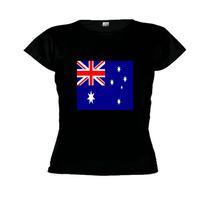 Camiseta Baby Look Bandeira Austrália