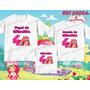 Kit Camisetas Personalizadas Aniversário Moranguinho