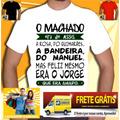 Camiseta Machado Assis Manoel Jorge Amado Camisa Normal Baby
