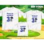 Kit Camisetas Personalizadas Aniversario Pablo Backyardigans