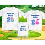 Kit Camisetas Personalizadas Aniversario Familia Pig George