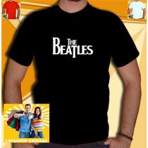 Camisa The Beatles Camiseta Masculina Banda Rock Rolling Ac