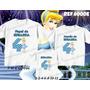 Kit Camisetas Personalizadas Aniversário Cinderela Princesas