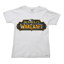 Camiseta Infantil Juvenil Wow World Of Warcraft C Do 2 Ao 16