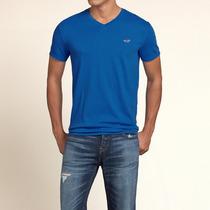 Camiseta Hollister Gola V - 100% Original