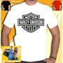 Camisa Harley Davidson Camiseta Motos Banda Masculina Homem