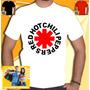 Camisa Red Hot Chili Peppers Camiseta Rhcp Nirvana Ac Dc Bon