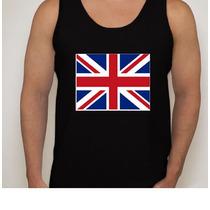 Camiseta Regata Bandeira Inglaterra