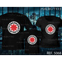 Camiseta Red Hot Chili Peppers Rock Roll Bandas Kit Com 3