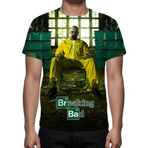 Camisa, Camiseta Série Breaking Bad - Estampa Total