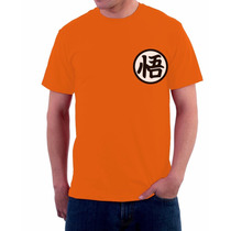 Camisa, Camiseta Goku, Dragon Ball Z, Traje