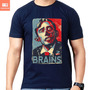 Camisetas Zumbi Zombie Obama Change Camisa 100% Algodão Nerd