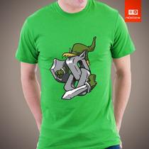 Camisetas Legend Of Zelda Link Nintendo Games Jogos Herois