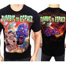Camiseta De Banda - Zumbis Do Espaço