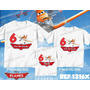 Kit Camisetas Personalizadas Aniversario Filme Aviões Carros