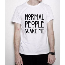 Camisas Série American Horror Story Normal People Scare Me