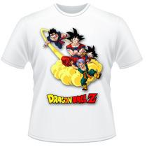 Camiseta Dragon Ball Z Anime Desenho Camisa #4