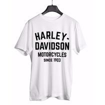 Camisa Harley Davidson Moto 100% Algodão !!!