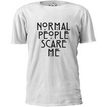 Camiseta American Horror Story Ahs Normal People Scare Me