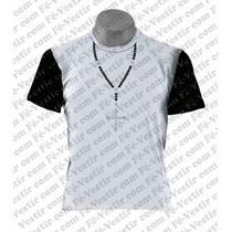 Camiseta Católica - Terço