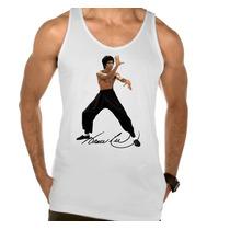 Camiseta Regata Adulto Bruce Lee Kung Fu Artes Marciais 03
