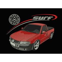 Camiseta Bordada Saveiro Surf Volkswagen