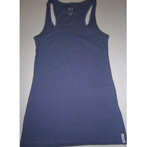 Camiseta Regata Feminina Armani Exchange,estilosa - C/ Frete