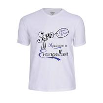 Camisa Camiseta Jesus Cristo Deus Gospel Evangélica Frase Fé