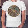 Camiseta Pronta Entrega Masculina Peace And Love